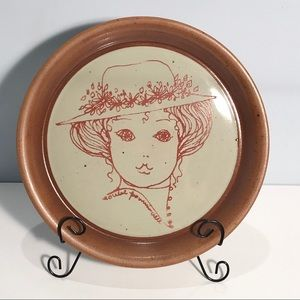 Sial Stoneware Decorative Plate Canadian Vintage